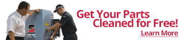 Parts Cleaning Banner